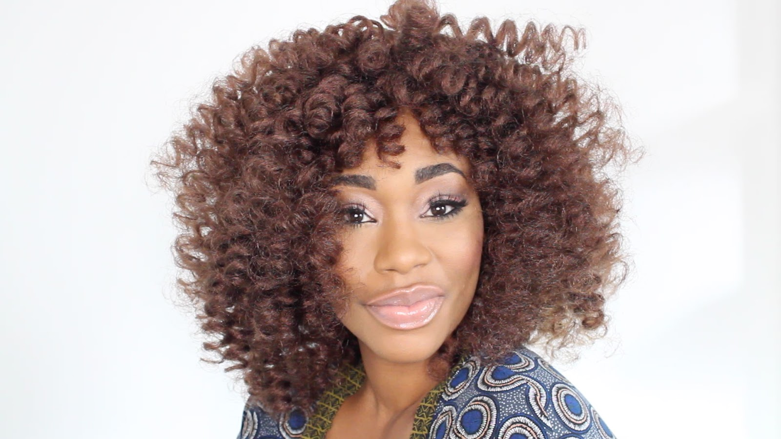 curly crochet hair