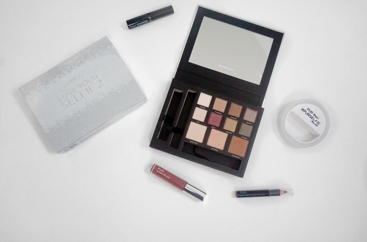 Pur Cosmetics Love Your Selfie 2 Palette Swatches and Tutorial