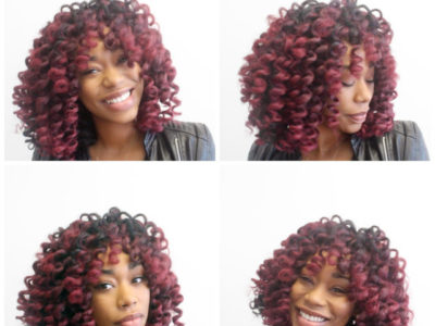 Red Hair Crotchet Wig Tutorial