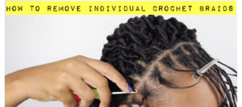 How To Remove Individual Crochet Braids