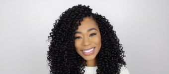 Curly Crochet Braids Featuring Sensational X-Pression Party Curl