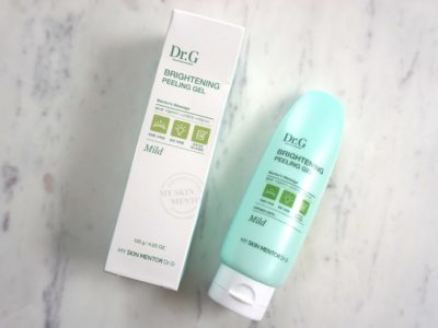 Dr.G Brightening Peeling Gel Review