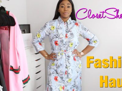 ClosetSheIn Fashion Haul