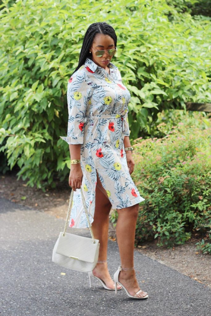 Tamara Blue Floral Dress From ClosetSheIn.com