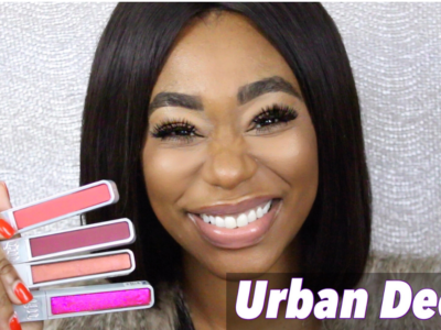 Urban Decay Hi Fi Shine LipGloss Swatches