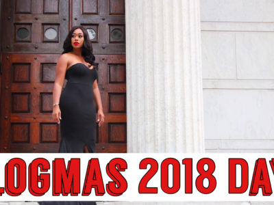 Vlogmas 2018 Day 1: Let's See How This Goes