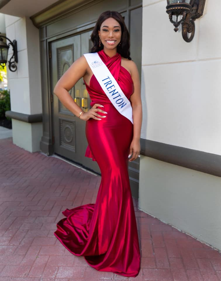 Chimere Nicole Haskins as Mrs. Trenton New Jersey United States 2019.