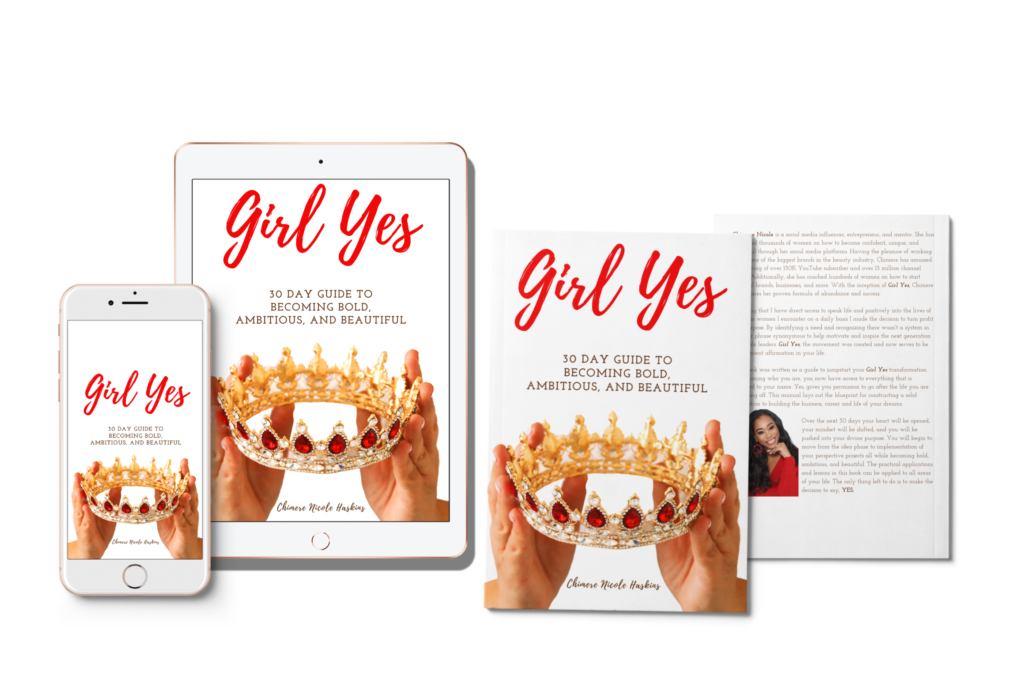 Girl Yes Book by Chimere Nicle