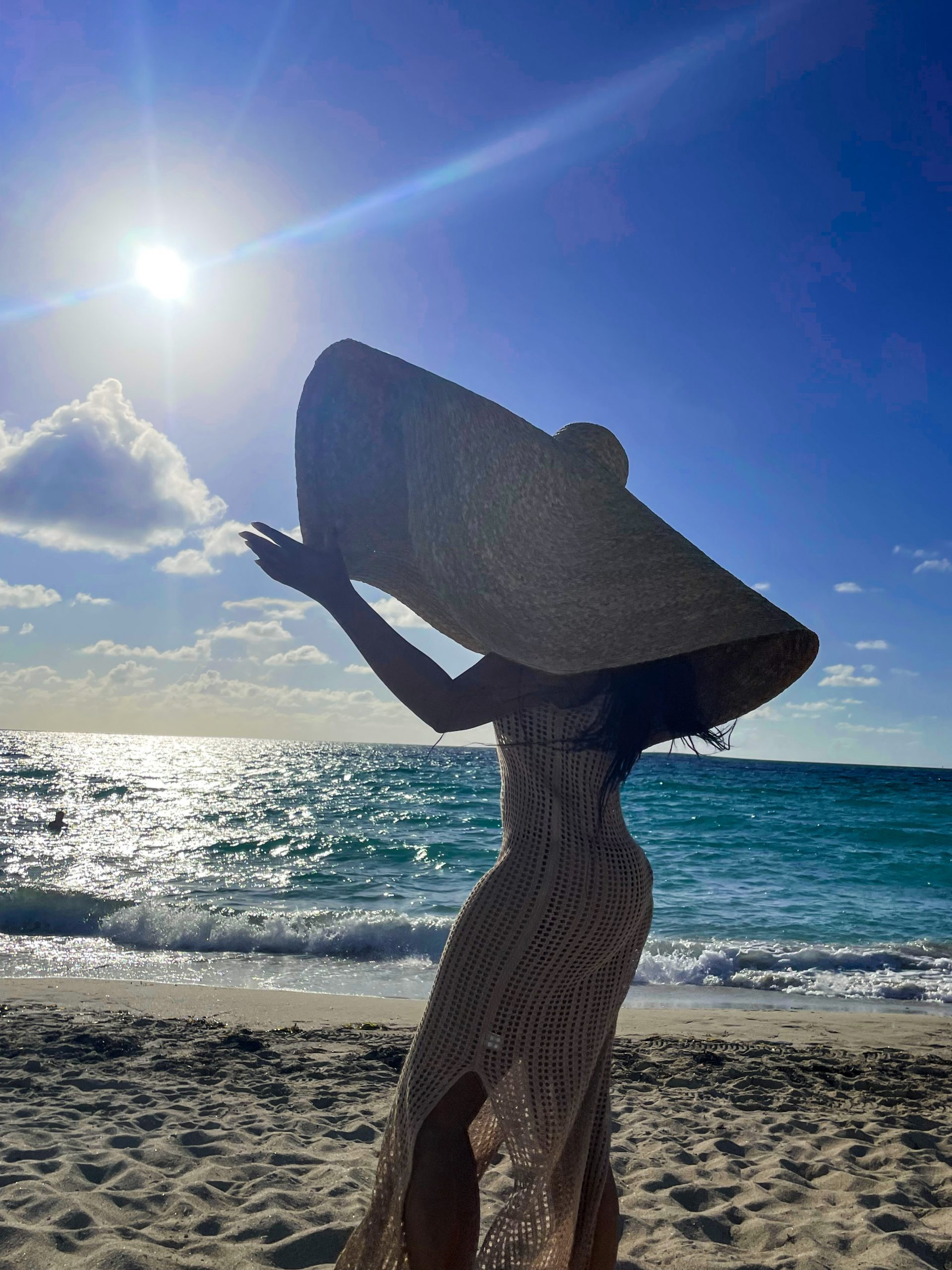 What Does The World's Largest Beach Hat Look Like